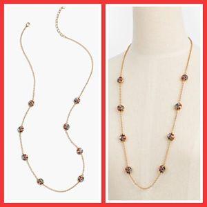 Talbots Jeweled Layering Necklace